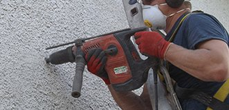 Cavity Wall Insulation - Drilling