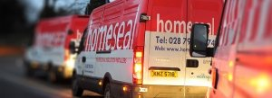 Homeseal insulation vans