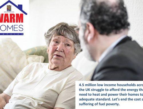 NEA Launches Warm Homes Campaign